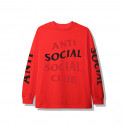 Anti Social Social Club ASSC Highlight LS Red