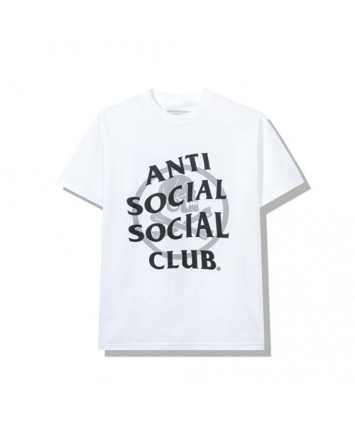 Anti Social Social Club ASSC Neighborhood Cambered Tee White