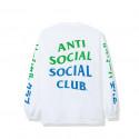 Anti Social Social Club ASSC Pizza Bun Tire LS Tee White
