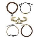 Bioworld Harry Potter Bracelet Set