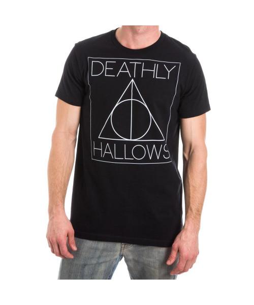 Bioworld Harry Potter Deathly Hallow Men Symbol Tee