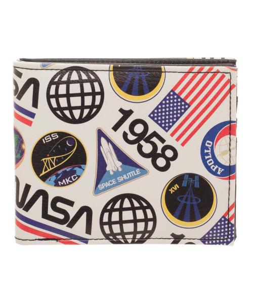 Bioworld NASA 1958 QT Bifold Wallet