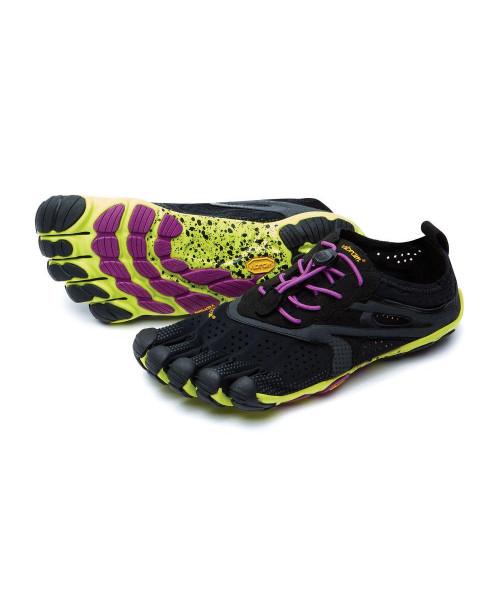 Vibram FiveFingers V-Run Women Black/Yellow/Purple