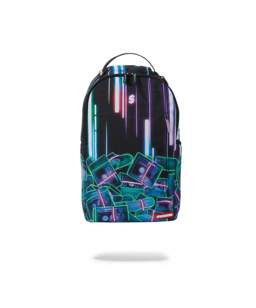 Sprayground Neon Money Backpack