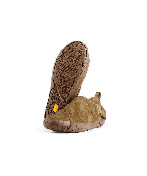 Vibram Furoshiki Shearling High Shoe Caramel Brown