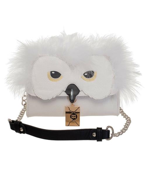 Bioworld Harry Potter Hedwig Crossbody Handbag