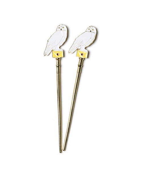 Bioworld Harry Potter Hedwig Owl Hair Sticks