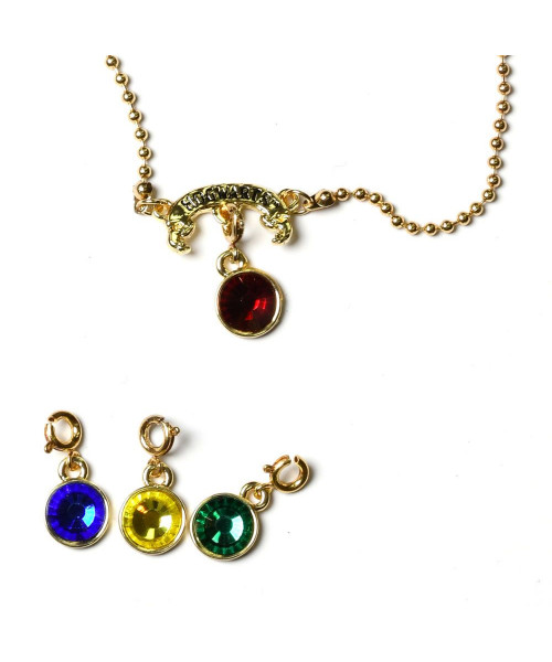 Bioworld Harry Potter Hogwarts House Charms Necklace