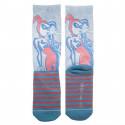 Bioworld Harley Quinn Jnrs Neon Socks