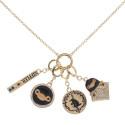 Bioworld Fantastic Beasts Multi Charm Necklace