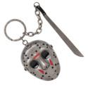 Bioworld Friday the 13th Jason Machette Keychain