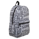 Bioworld Friends AOP Quotes Backpack
