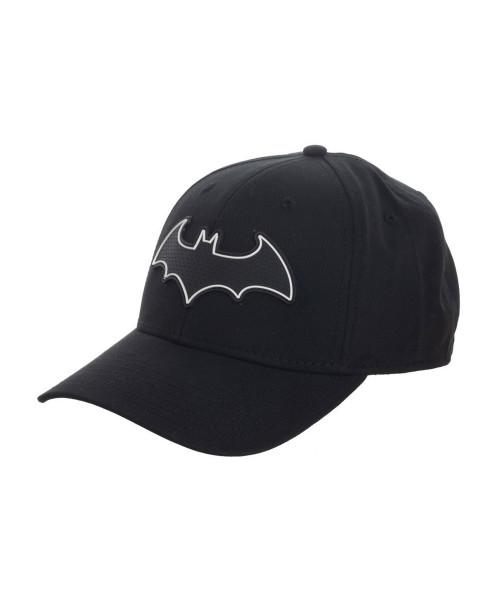 Bioworld Batman Logo Wled Flex Fit Cap