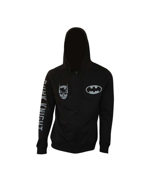Bioworld Batman Logo Zip Up Hoodie