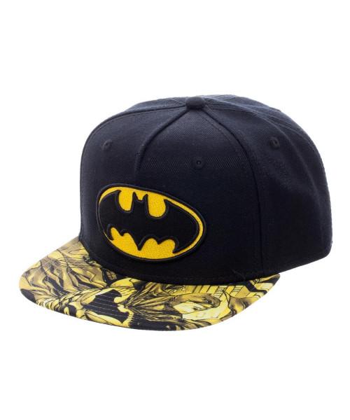 Bioworld Batman Youth Black/Yellow Snapback