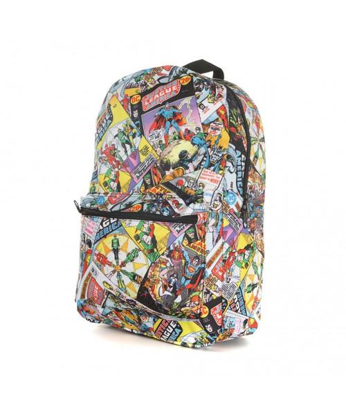 Bioworld DCO Justice League Comic AOP Backpack